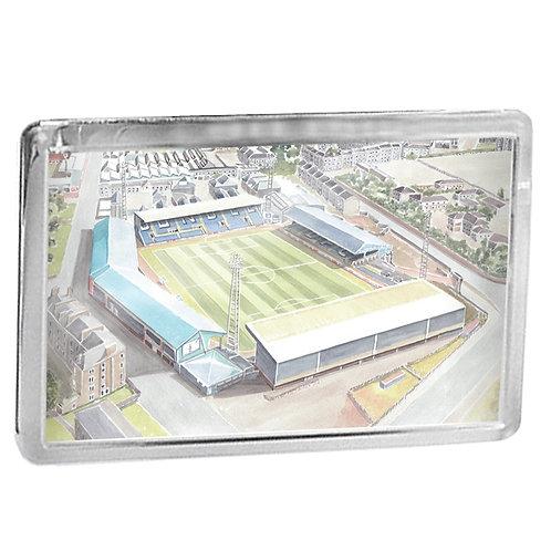 Dundee Football Club - Dens Park - Fridge Magnet