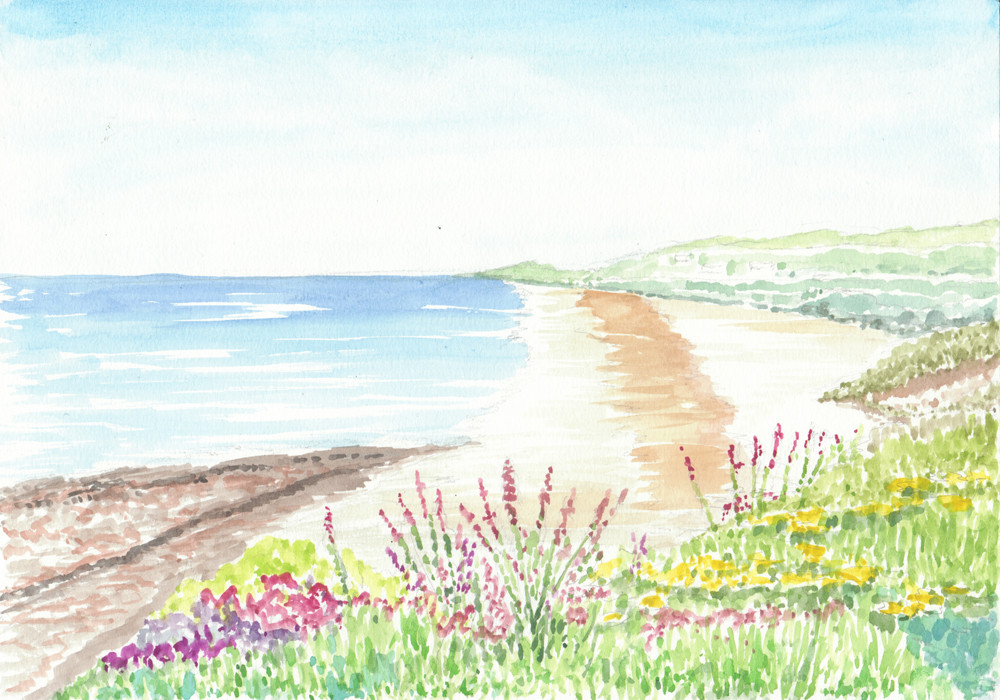 Gyllyngvase Beach - Falmouth-W