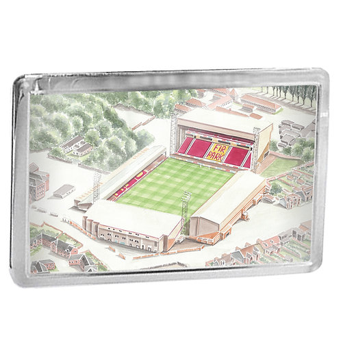 Motherwell Football Club - Fir Park - Fridge Magnet