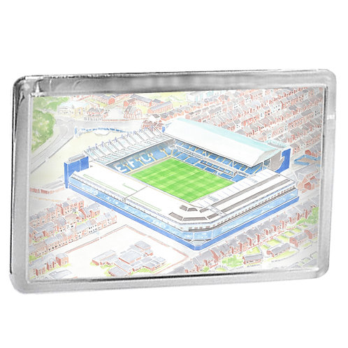 Everton - Goodison Park - Fridge Magnet