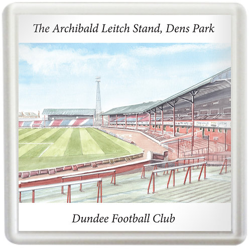 Dundee Football Club The Archibald Leitch Stand, Dens Park - Coaster