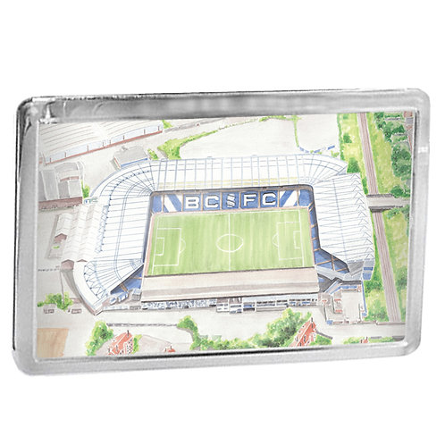 Birmingham City - St Andrews - Fridge Magnet