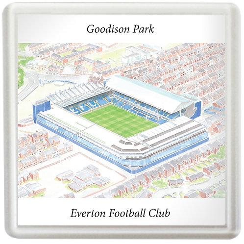Everton - Goodison Park - Coaster