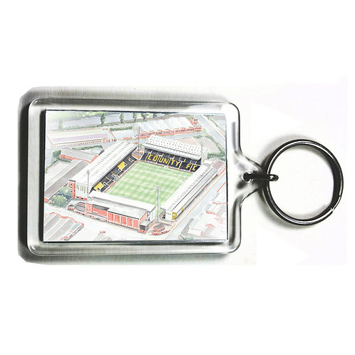 Notts County Football Club - Meadow Lane - Keyring