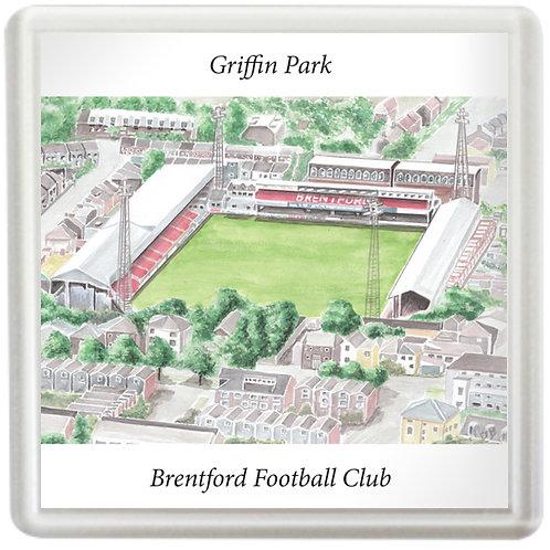 Brentford - Griffin Park - Coaster