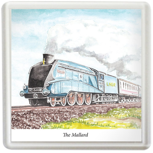 The Mallard - Coaster
