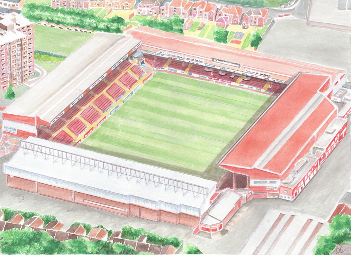The Old Ashton Gate Stadium - Bristol City Football Club