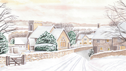 Snowshill In Winter