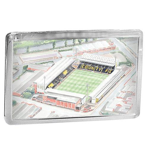 Notts County Football Club - Meadow Lane - Fridge Magnet