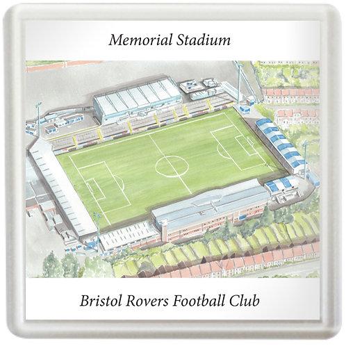 Bristol Rovers Football Club - Memorial Stadium - Coaster