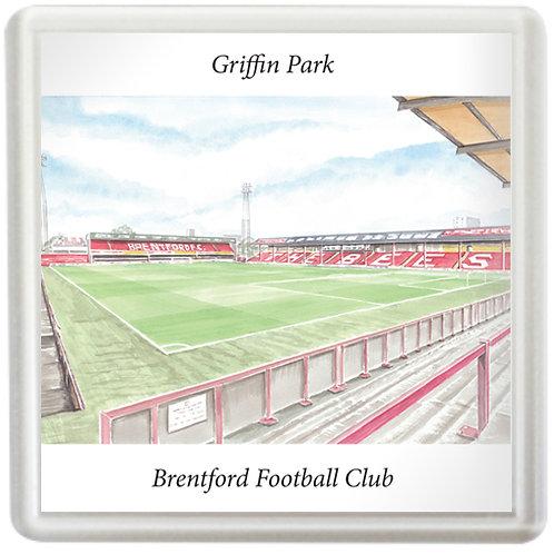 Brentford - Inside Griffin Park - Coaster
