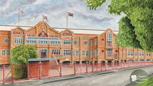 Aston Villa - Trinity Road Stand