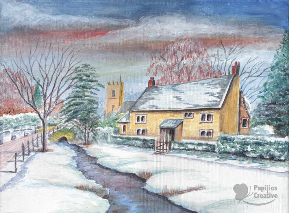 Wintery Cottage