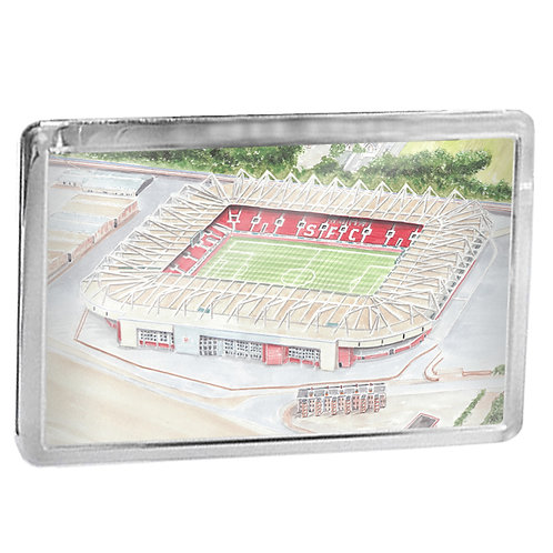 Southampton - St Marys Stadium - Fridge Magnet