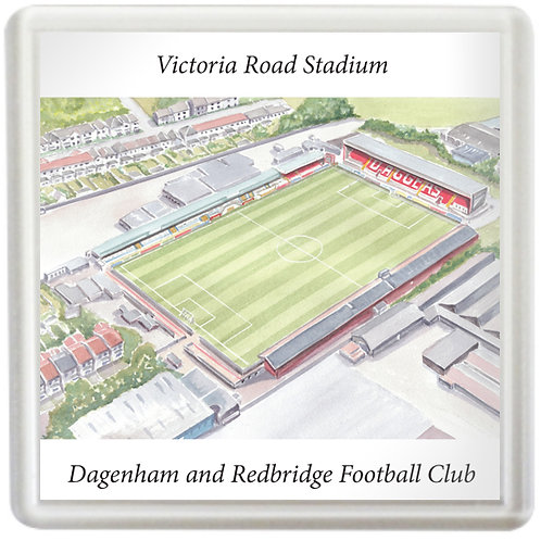 Dagenham and Redbridge FC - Victoria Road Stadium - Coaster