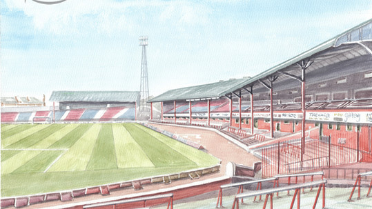 Dundee FC - The Archibald Leitch Stand Dens Park