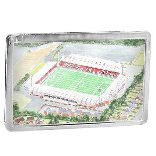Bournemouth - The Vitality Stadium - Fridge Magnet