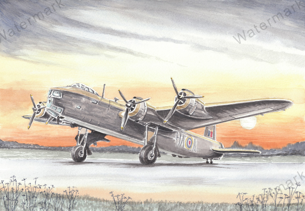Short Stirling Bomber