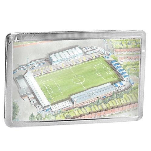 Bristol Rovers Football Club - Memorial Stadium - Fridge Magnet