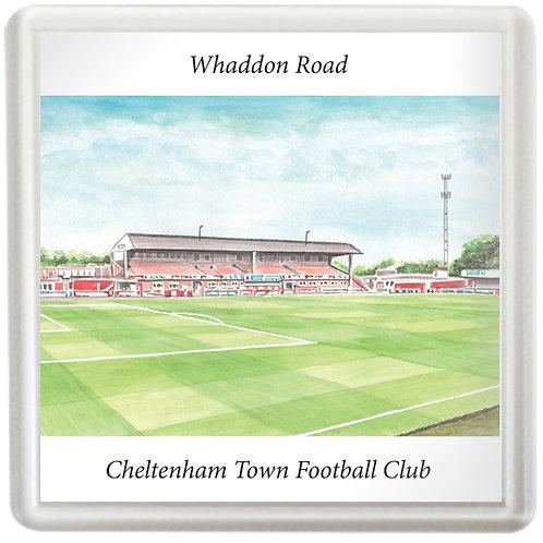 Cheltenham Town - Whaddon Road Main Stand - Coaster
