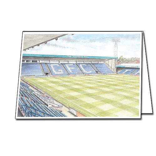 Gillingham Football Club, The Rainham End - Greetings Card A5/A6