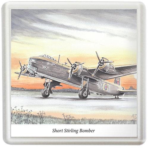 Short Stirling Bomber - Coaster