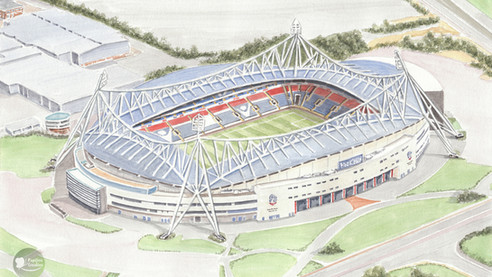 Bolton Wanderers - University of Bolton Stadium