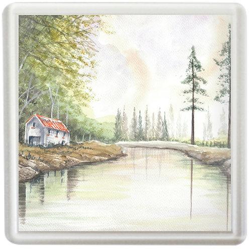 River Reflections - Coaster