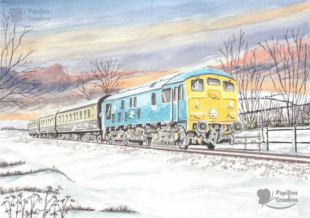 Class 24 Diesel Loco on the GWR