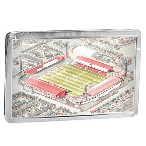 Middlesbrough Football Club - Ayresome Park - Fridge Magnet