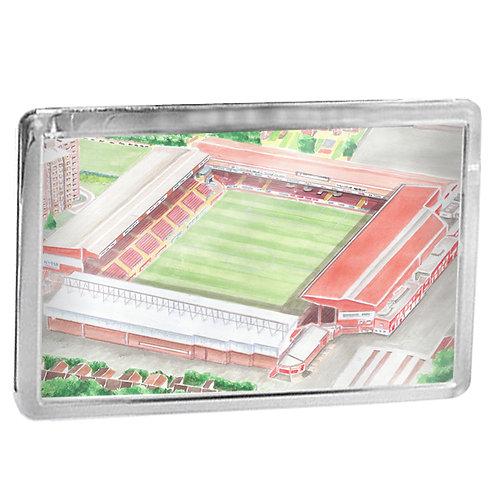 Bristol City - Ashton Gate Stadium Bygone - Fridge Magnet
