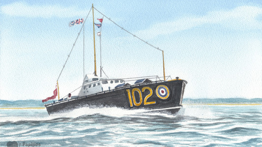 WWII RAF Rescue Launch