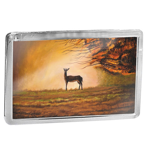 Deer On Point - Fridge Magnet