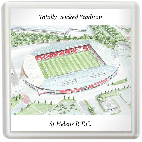 St Helens R.F.C. - Totally Wicked Stadium - Coaster