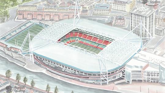 The Principality Stadium, Cardiff