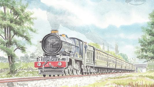 King Class 6023 King Edward II