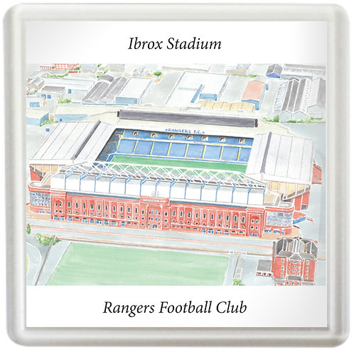 Rangers  - Ibrox Stadium - Coaster