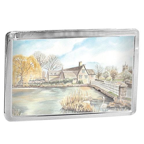 Fairford Mill - Fridge Magnet