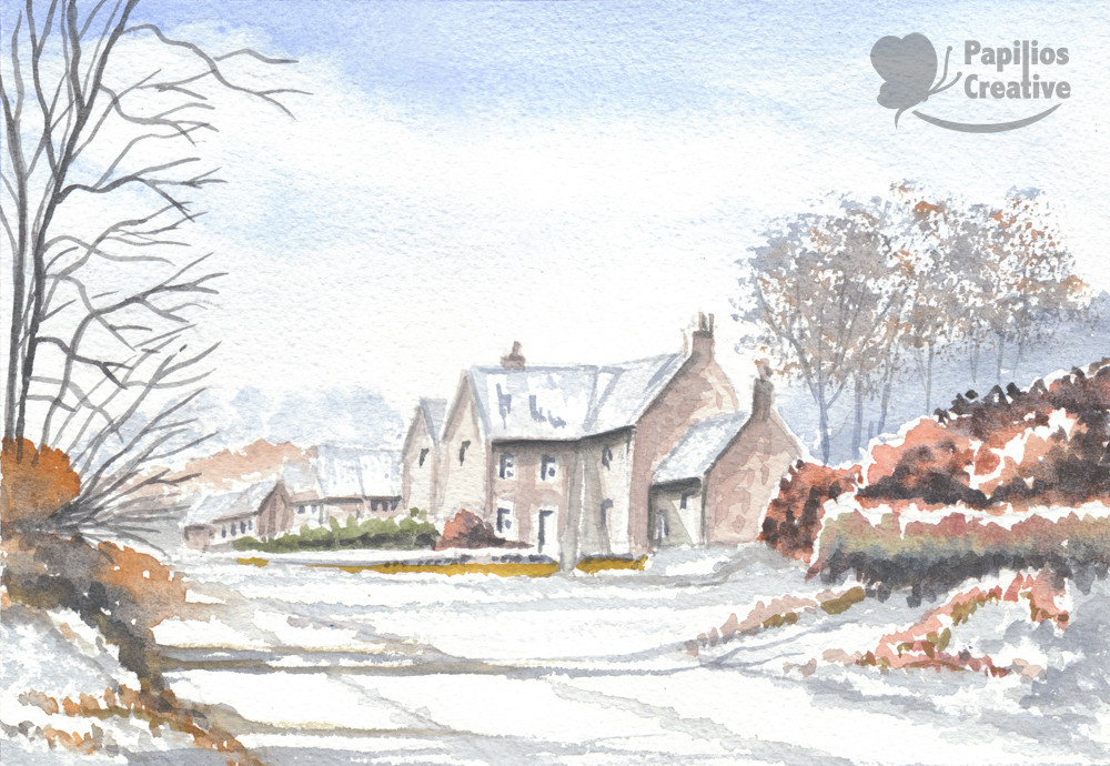 Landscape - Wintry-Village-Done-Social-M