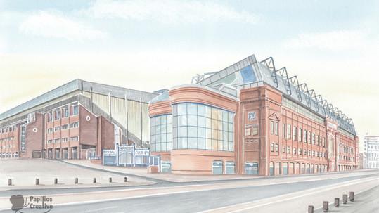 Rangers FC - Ibrox Outside View