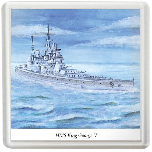HMS King George V - Coaster