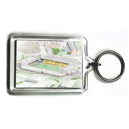 Norwich City - Carrow Road - Keyring