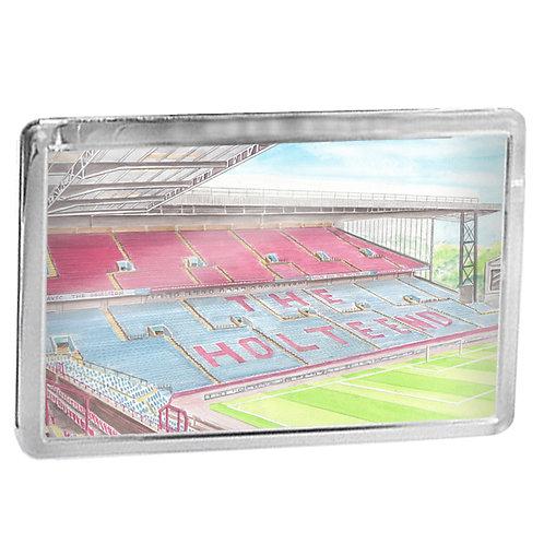 Aston Villa - Holte End Stand - Fridge Magnet
