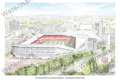 The Brentford Community Stadium, Print A4 or A3