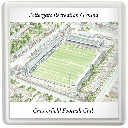 Chesterfield Football Club, Saltergate Recreation Ground - Coaster