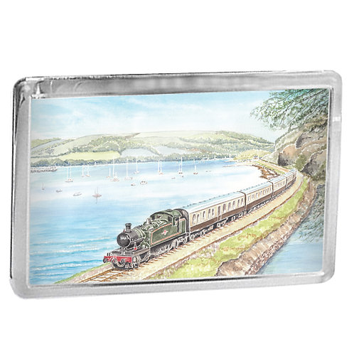 Dartmouth Steam Railway - Journey To Kingswear - Fridge Magnet