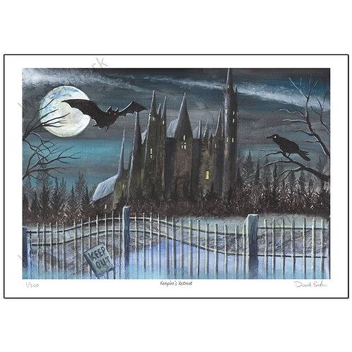 Vampire's Retreat, Print A4 or A3