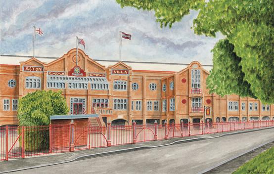 Villa Park - Old Trinity Road Stand