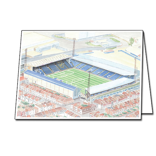 Portsmouth - Fratton Park - Greetings Card Landscape, A5/A6