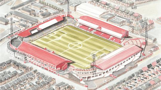Middlesbrough Football Club - Ayresome Park